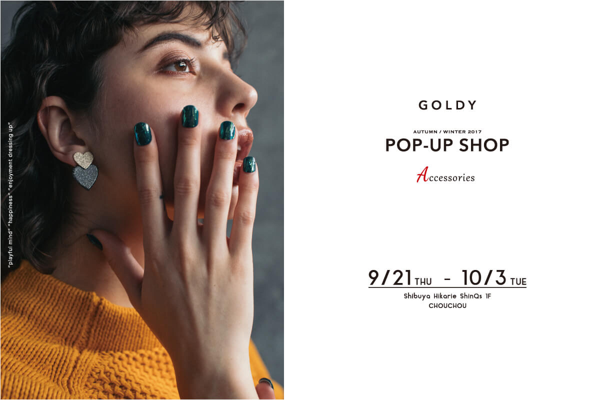 GOLDY POP-UP SHOP